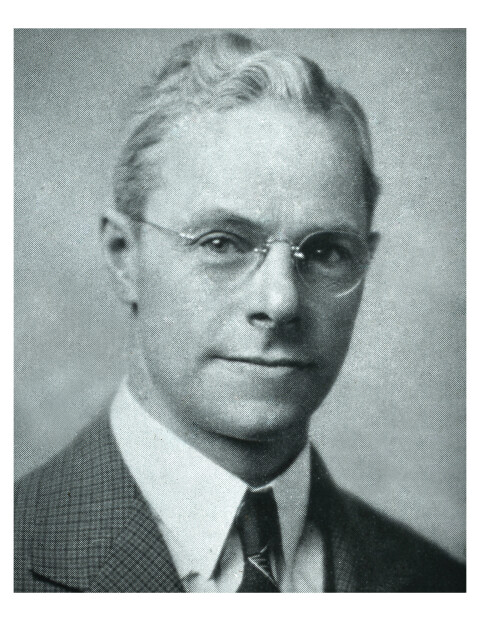 Reverend John Linton - founder of Peoples Church of Montreal in 1938.