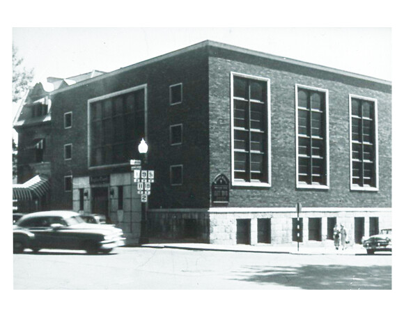 Peoples Church Montreal was rebuilt and reopened in 1952.