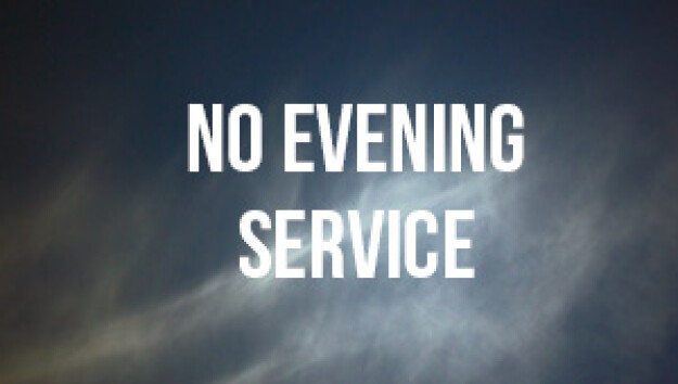 No Evening Service New Year