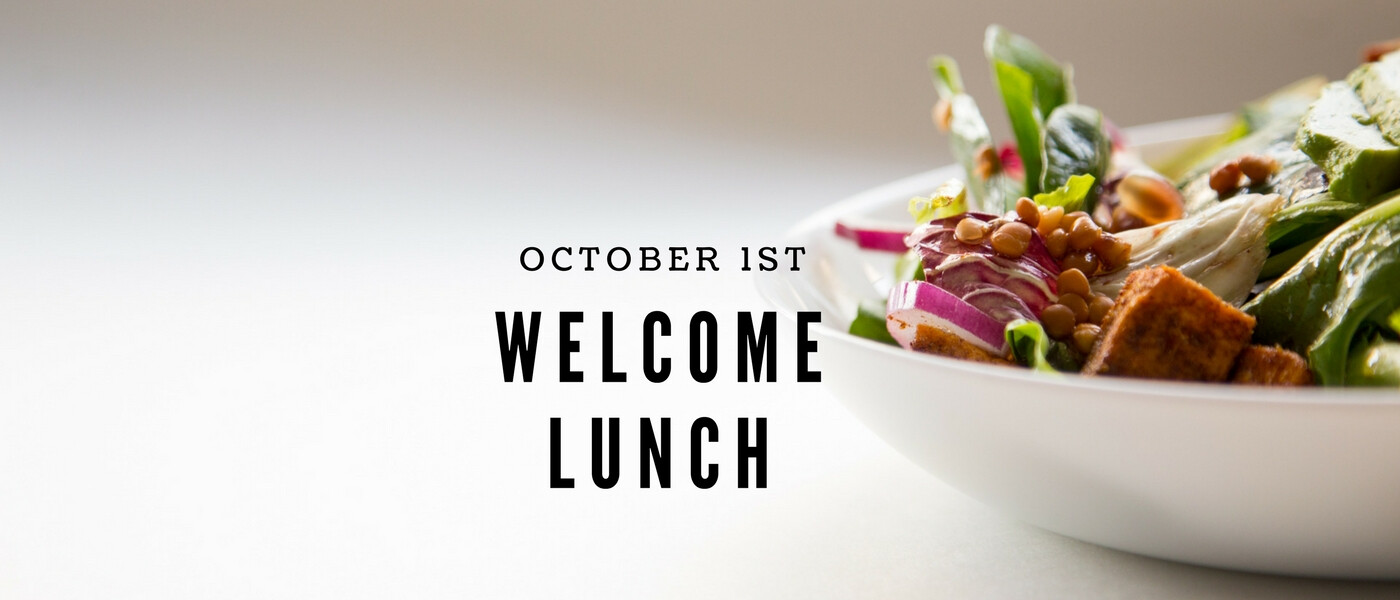 Welcome Lunch Oct. 1, 2017