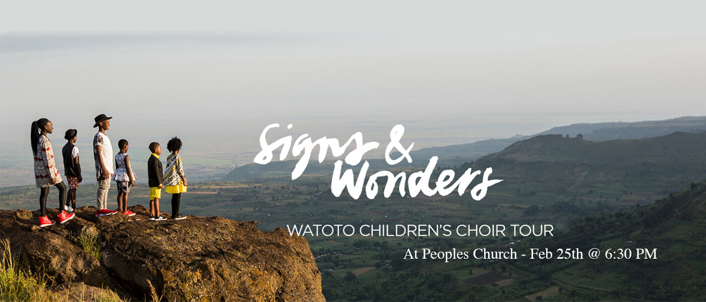 Watoto Children's Choir - Peoples Church Montreal