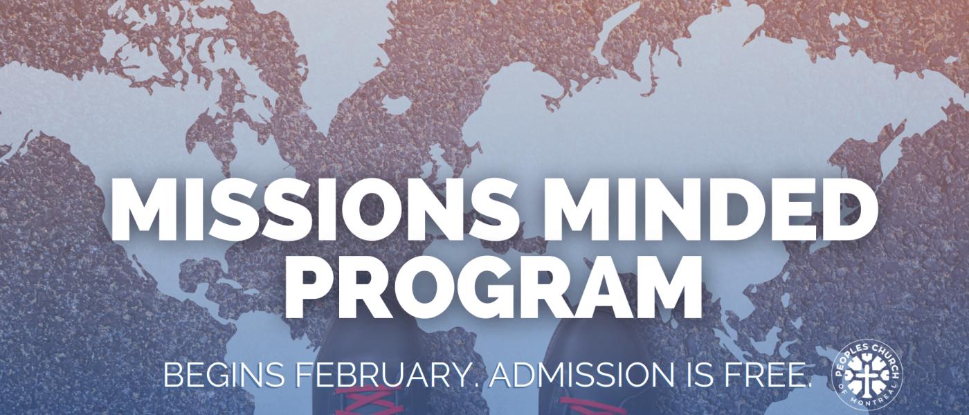 Missions Minded Program